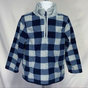 Boy's Old Navy quarter zip pullover size 3t